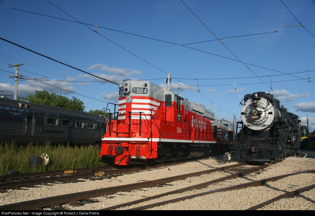 Photo CBQ 504 Chicago, Burlington