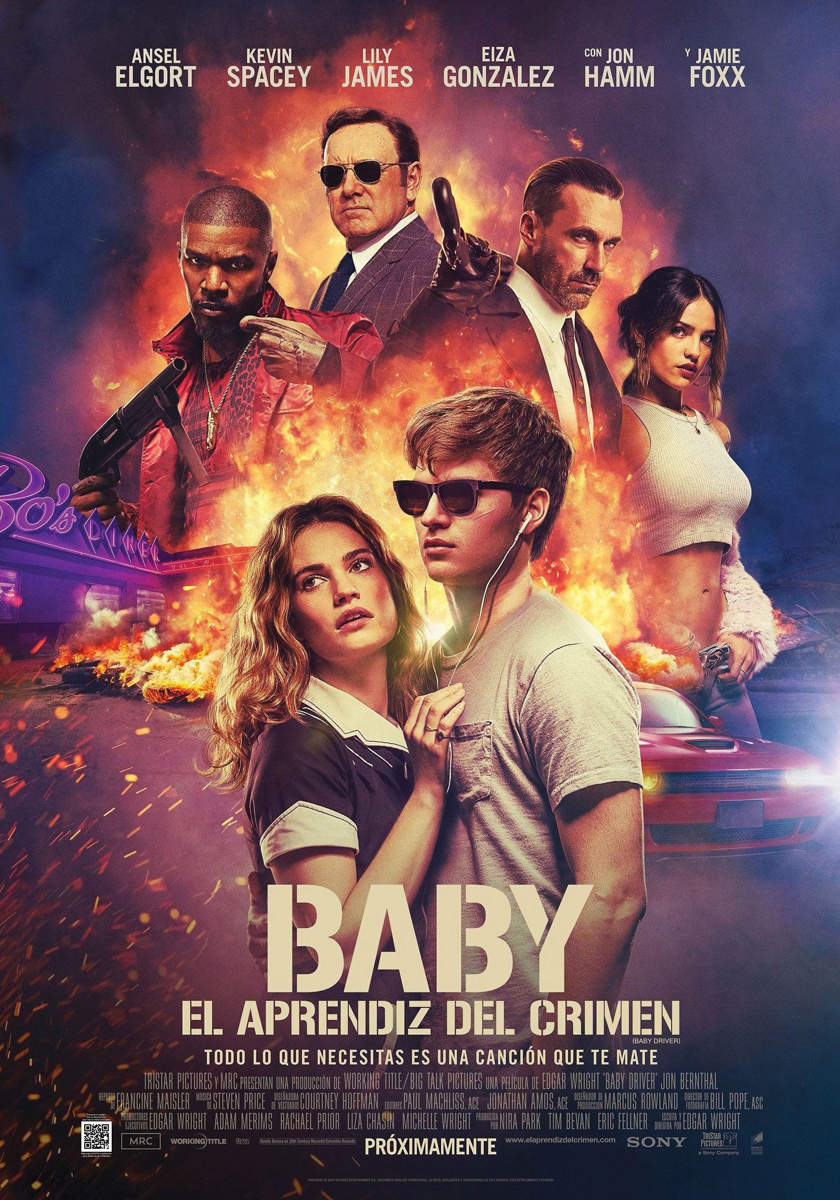 Baby Driver 2017 Hd Wallpaper From Gallsource Com Polnometrazhnye Filmy Ensel Elgort Filmy Hd
