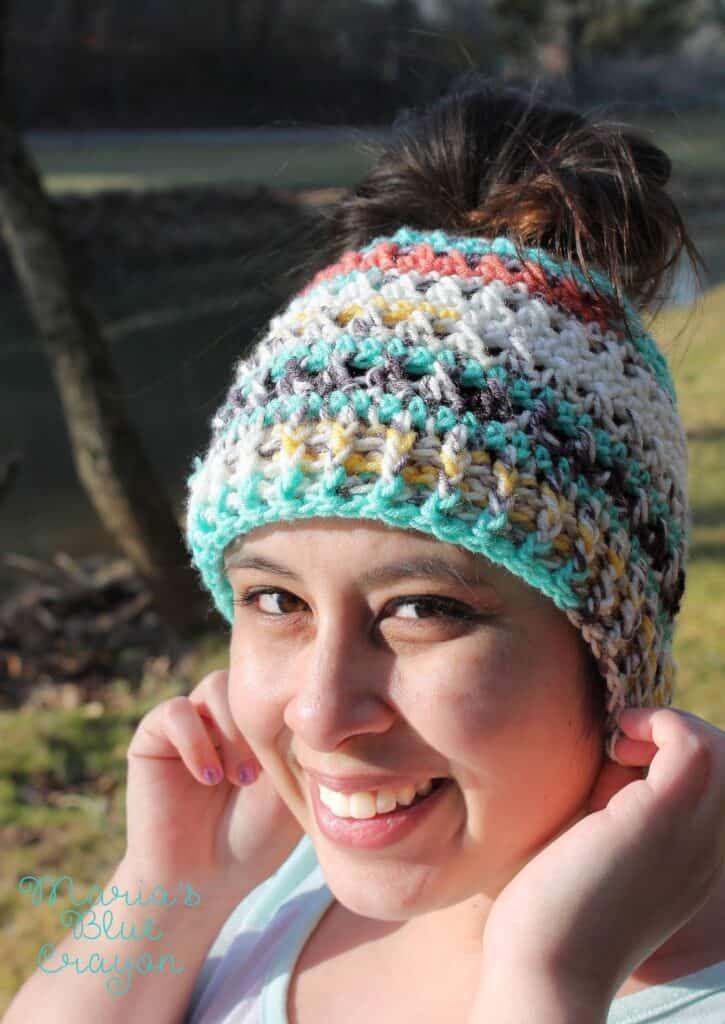 Painted Canyon Messy Bun Hat #messybunhat