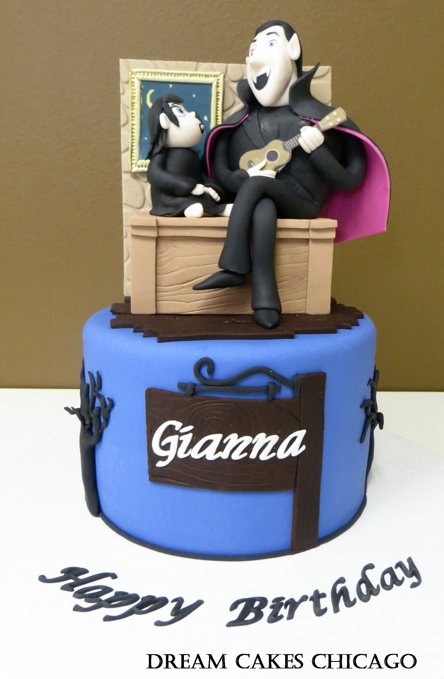 Hotel Transylvania Cake by Dream Cakes Chicago | Birthday Cakes ...
