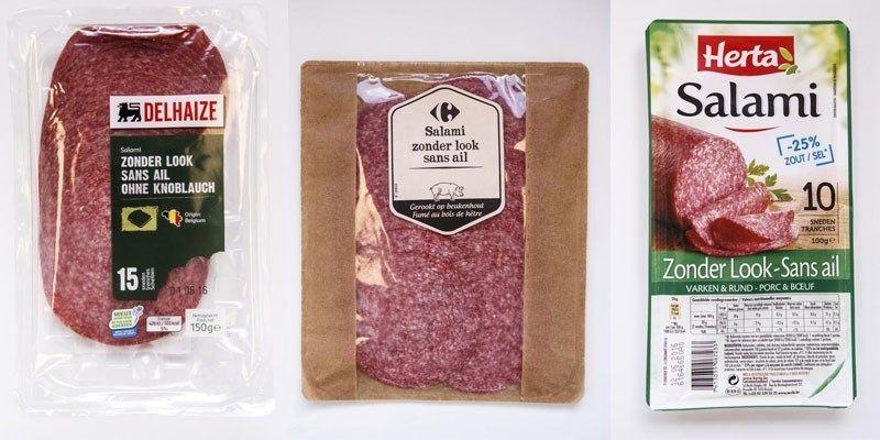 GETEST. Welke salami zonder look is het lekkerst? - Het Nieuwsblad: http://www.nieuwsblad.be/cnt/dmf20160609_02331373