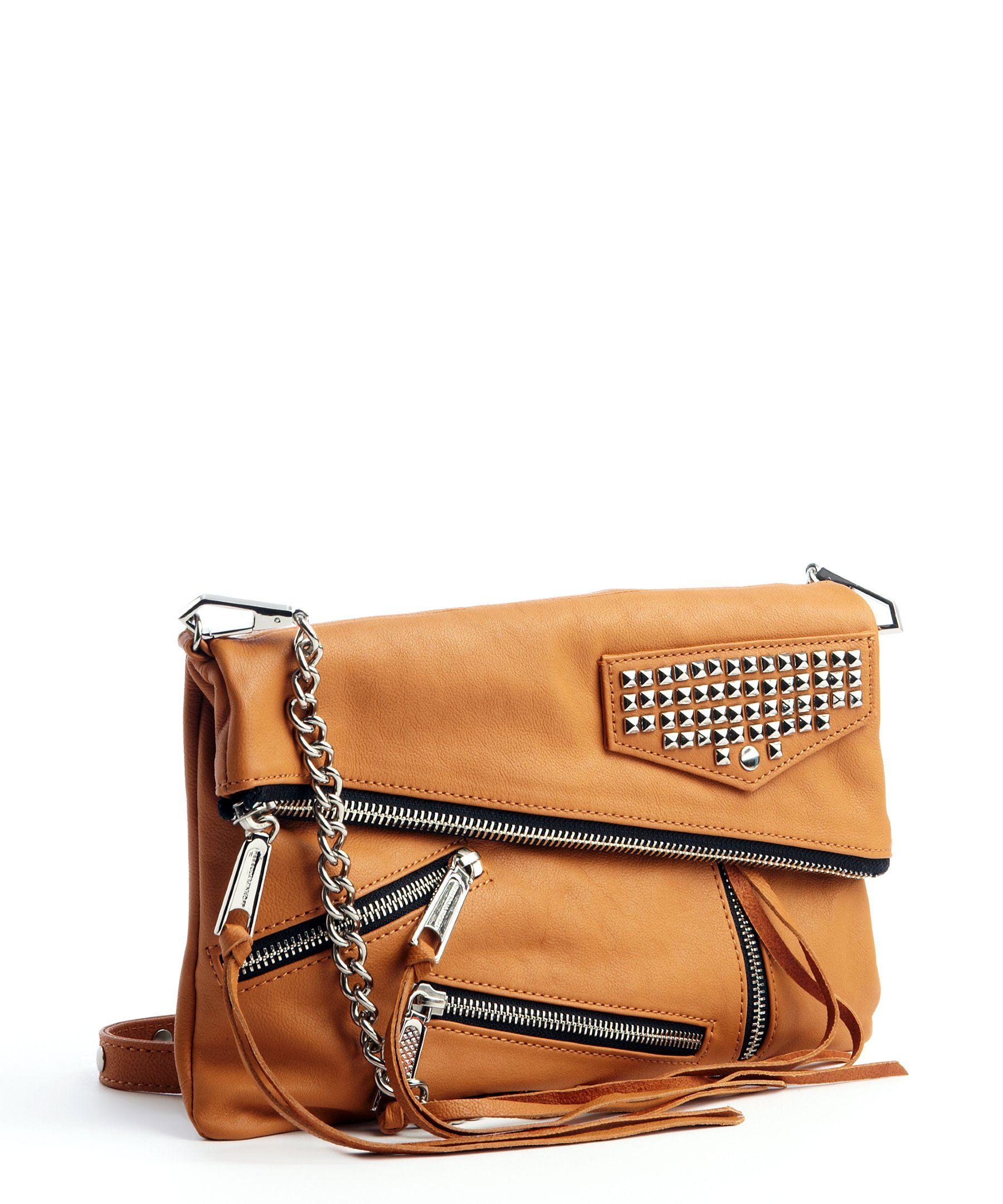 7d25adaf87 Rebecca Minkoff almond studded  Harper  crossbody bag