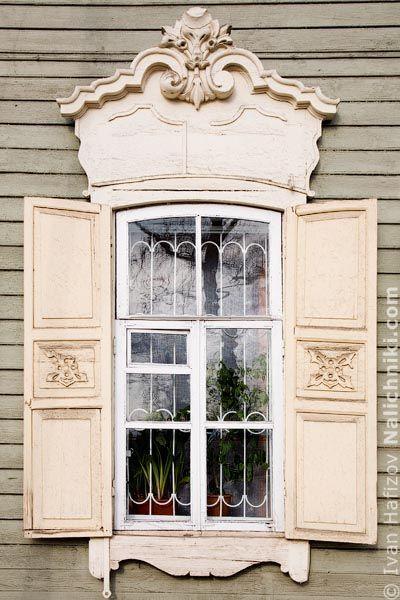 Деревянный наличник Иркутска №25