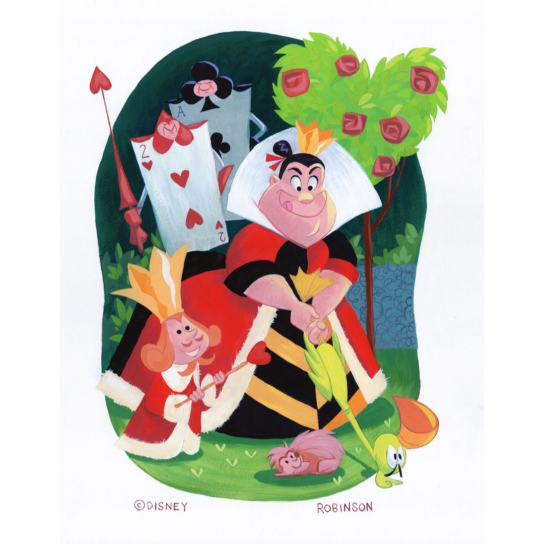 Bill Robinson On Instagram Here S My Queen Of Hearts Piece From