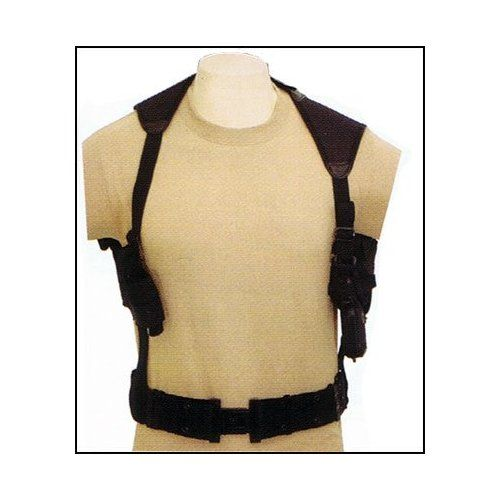 TAN Tactical Cross Draw Shoulder Pistol Gun Holster