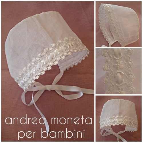 24475693e Gorro Bautizo De Organza Para Faldellin. Andrea Moneta 113 -   290 ...