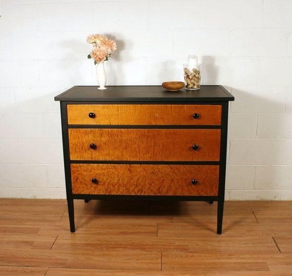 FOR GEFF Antique Birdseye Maple Dresser Dresser