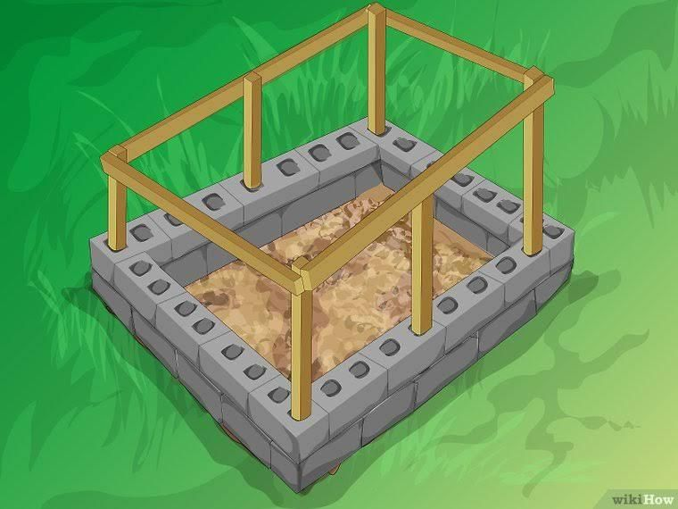How To Build A Mortarless Concrete Stem Wall 15 Steps Concrete Block Walls Cinder Block Walls Building A Fence