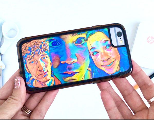 Phone Art Phone Case | Turn your phone case into a piece of art with photos from your HP Sprocket!