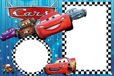 Invitaciones Para Imprimir Gratis De Cars Invitaciones