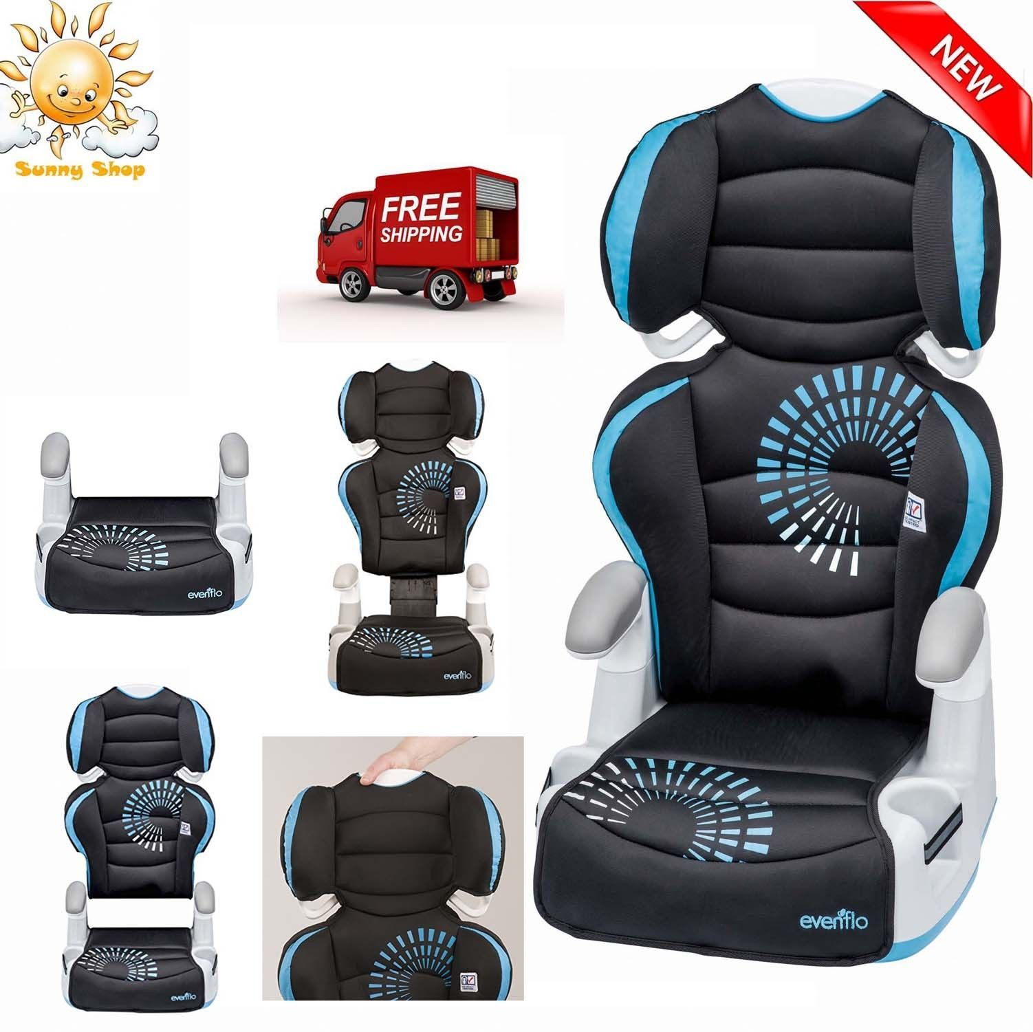 Baby Convertible Car Seat Safety Booster Chair Toddler Infant Child Travel Kids