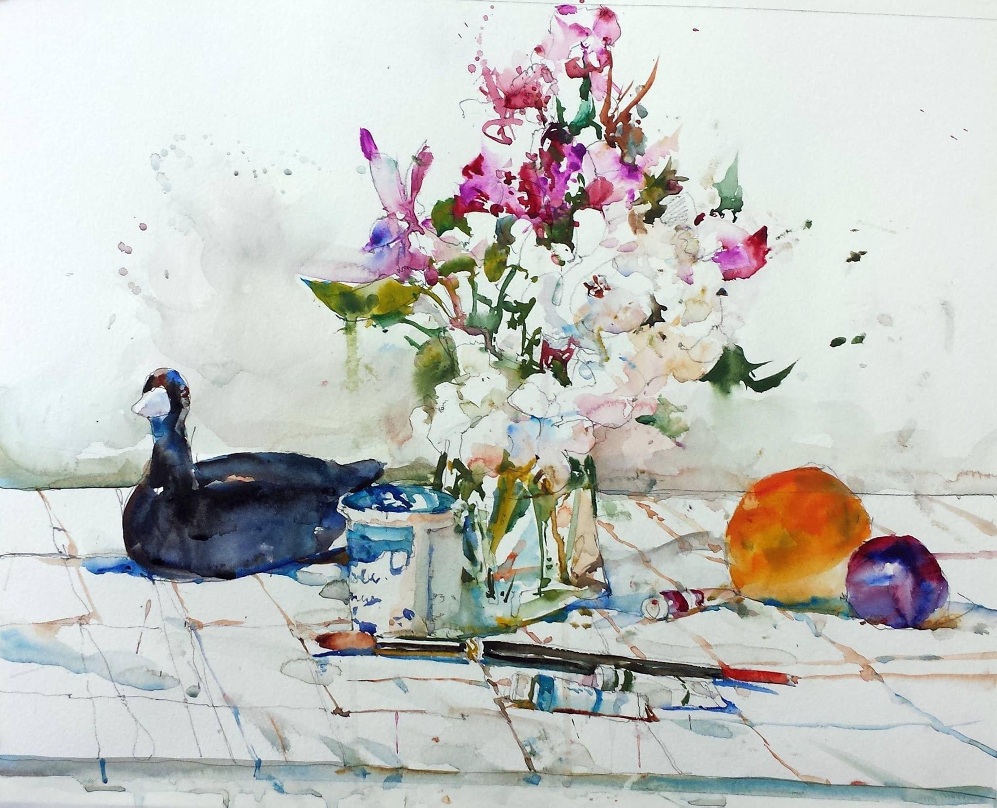 Watercolor artist magazine palm coast fl - Charles Reid Art Still Lifewatercolors