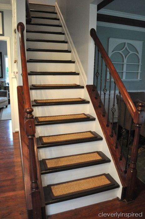 DIY Refinished Stairs @cleverlyinspired (2)