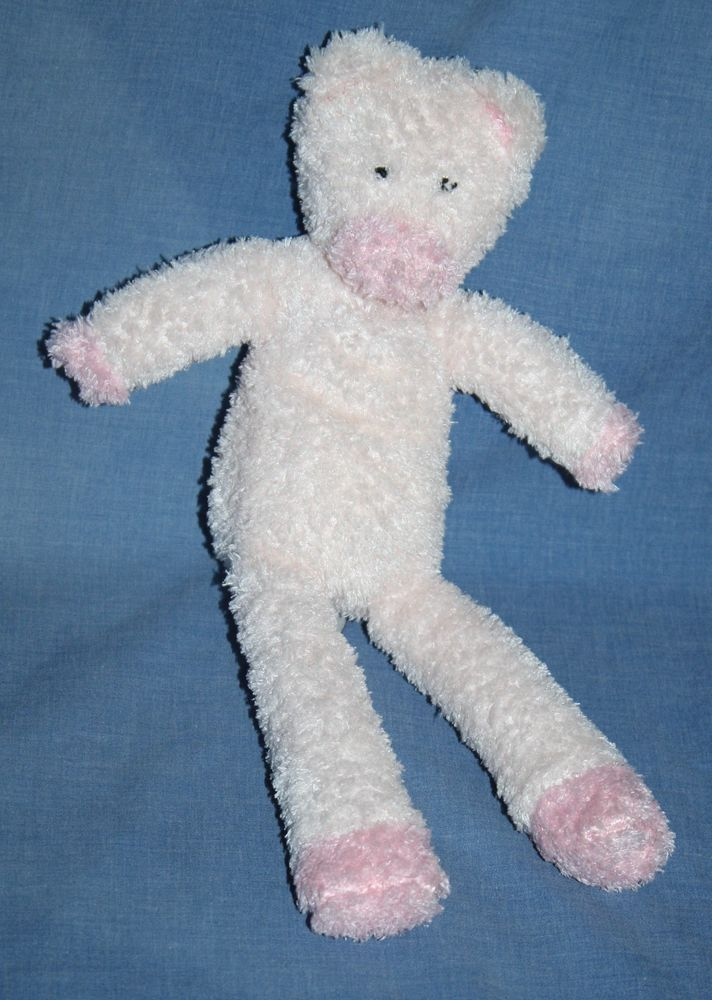 "Teddy Kompaniet Bastad pink Plush Pig Sweden soft toy Beans Stuffed Animal 11"" #TeddyKompanietBastad"