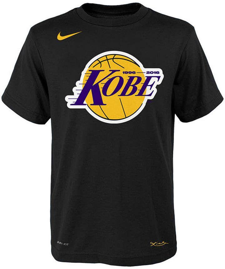 Nike Kobe Bryant Los Angeles Lakers Kobe Logo T Shirt Big Boys 8 20 Kobe Logo Kobe Bryant Los Angeles Nike Kobe Bryant
