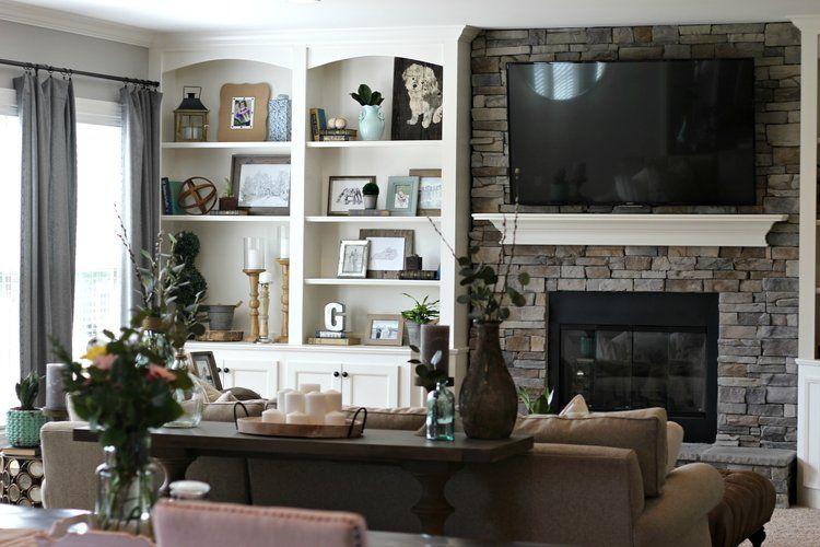 Neutral + Modern Living Room Makeover Modern living rooms, Modern