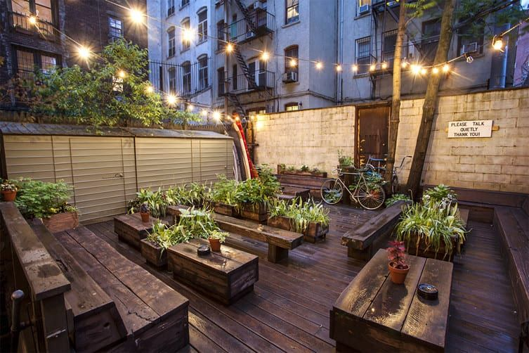 8 nyc coffee shops with outdoor space domino outdoor
