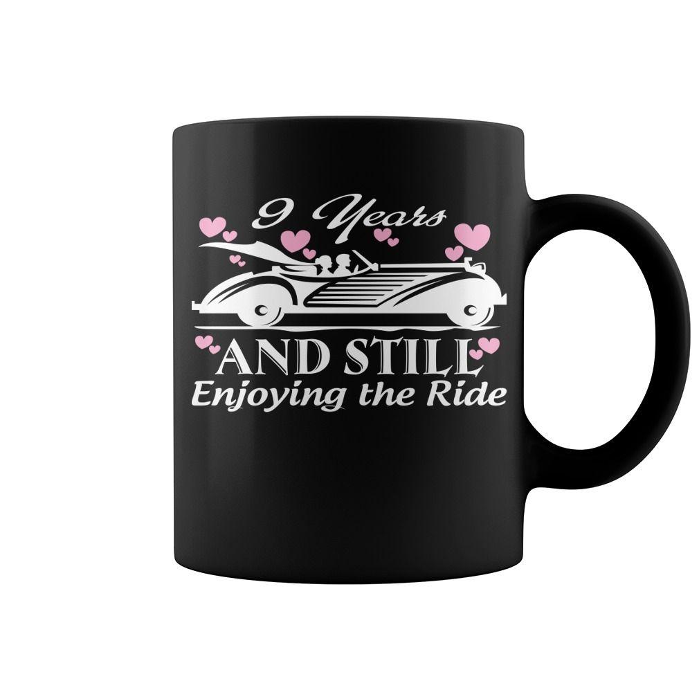 9th Wedding Anniversary Gifts For Him Or Her Hot Mug coffee mug ...