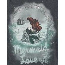 arielle die meerjungfrau merrmaid love t-shirt #canvas #