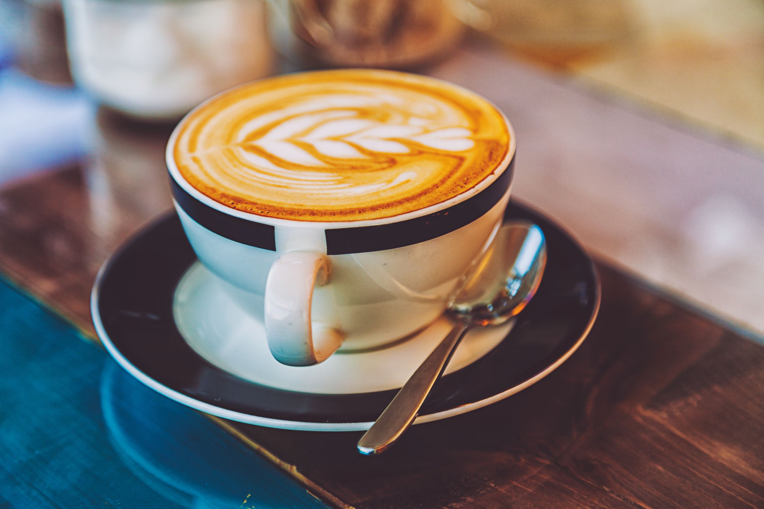 Here S What The World S Healthiest Country Eats For Breakfast Coffee Latte Gourmet Coffee Almond Milk Latte