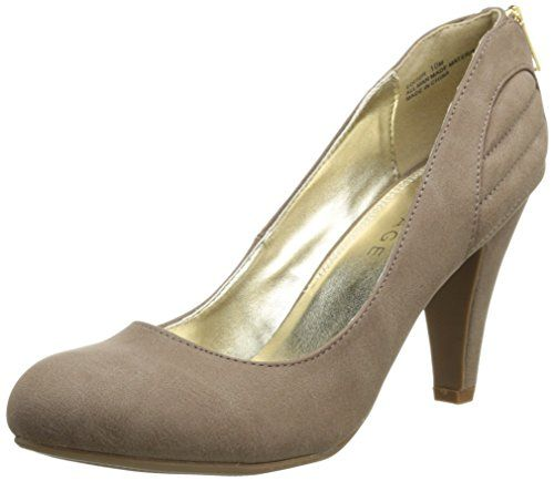picture of Rampage Women's Editor Dress Pump,Taupe,8 ...