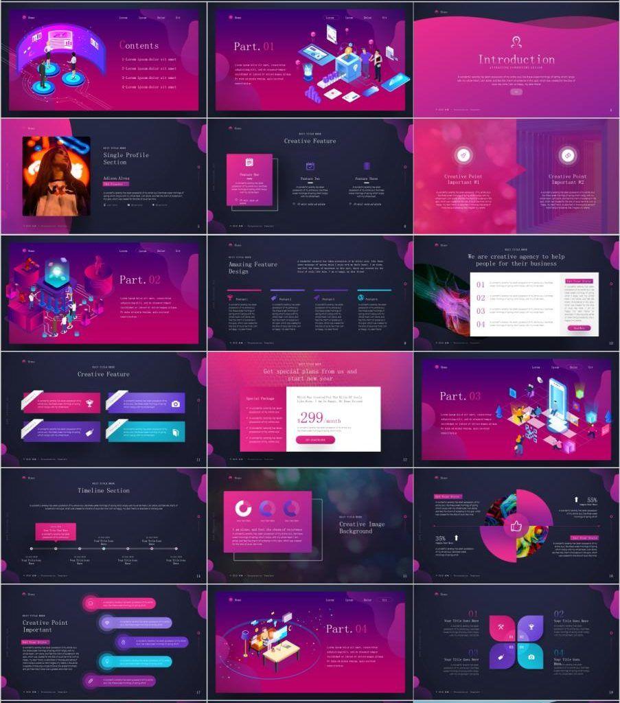 26 Red Web Design Powerpoint Templates Powerpoint Presentation Design Powerpoint Design Templates Web Design