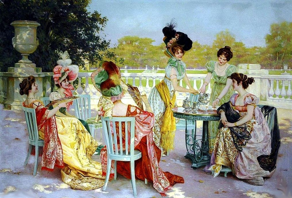 Sala, Jean (b,1895)- High Noon Tea