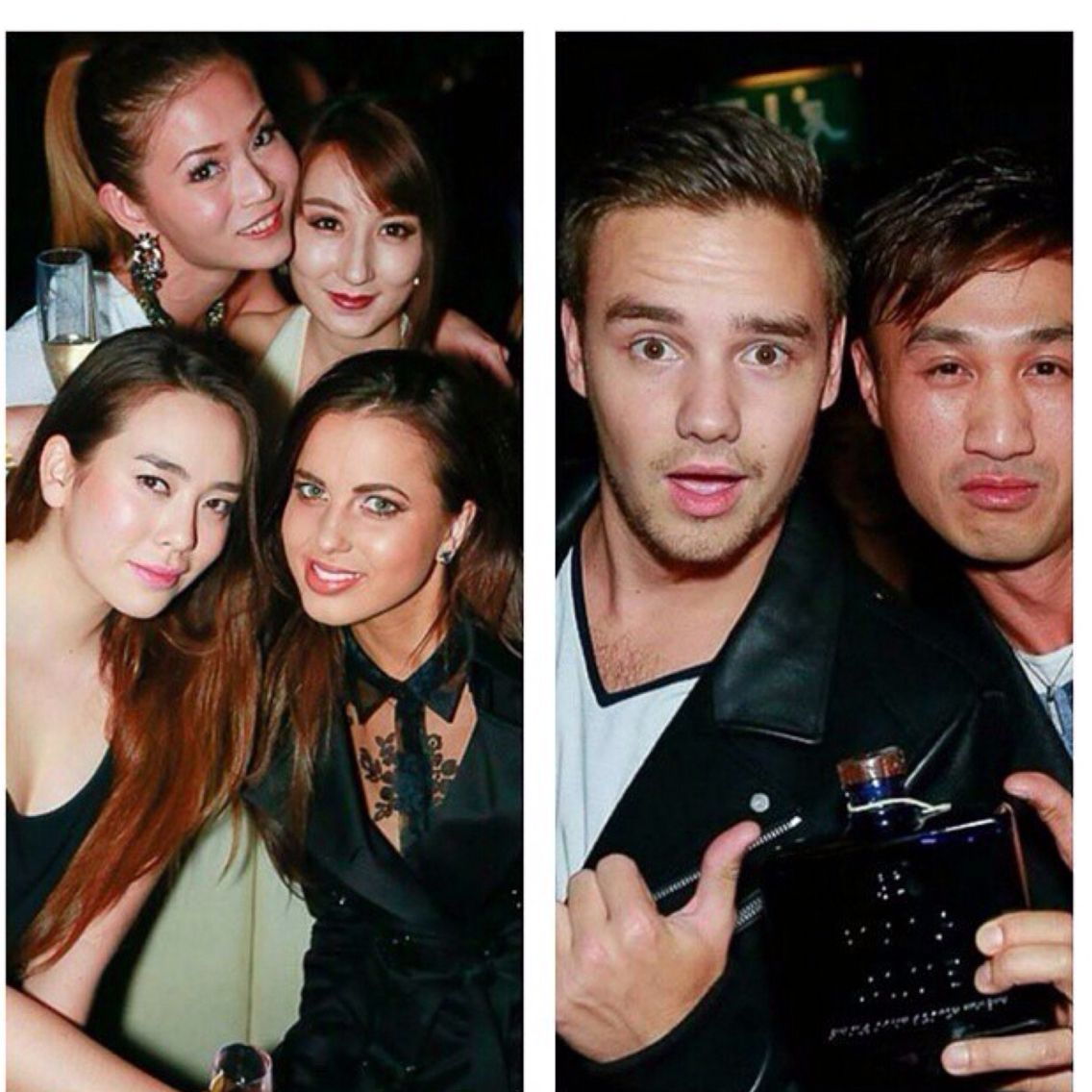 Liam and Sophia at funky Buddha 10/16/2014