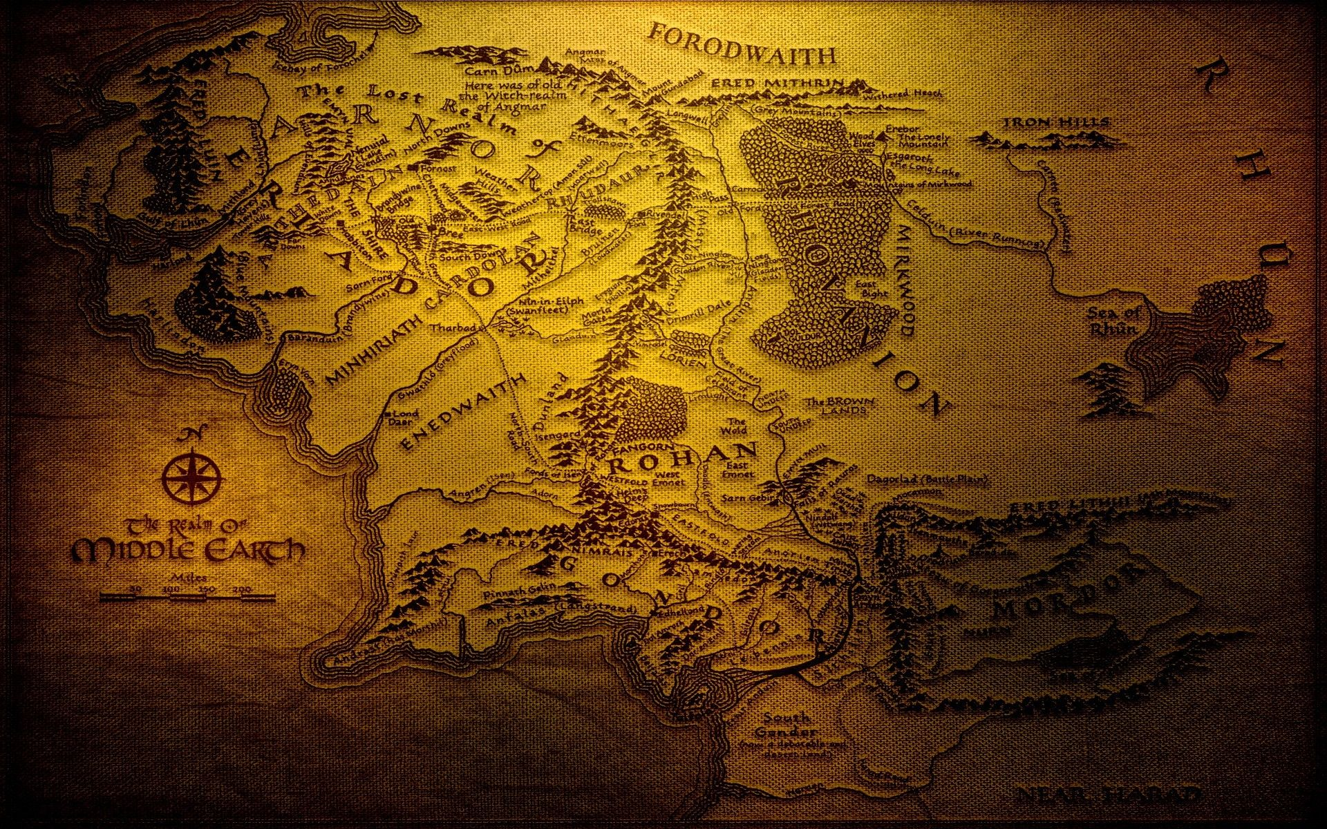 Lord Of The Rings Wallpaper High Quality Resolution Tuz Mapa Da