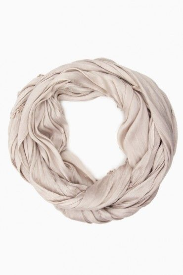 soft silk blend scarf