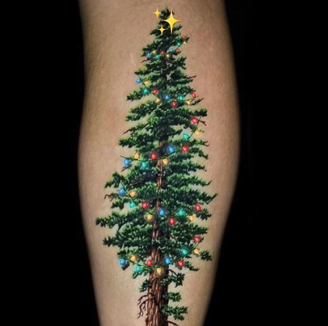 Christmas Tree Tattoo Ideas.Christmas Tree Tattoo By Jamie Schene I Neeeed Tats I Love
