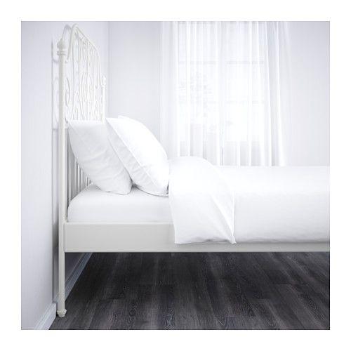 leirvik bed frame queen lur y ikea ikea hacks lit ikea lit cadre de lit. Black Bedroom Furniture Sets. Home Design Ideas