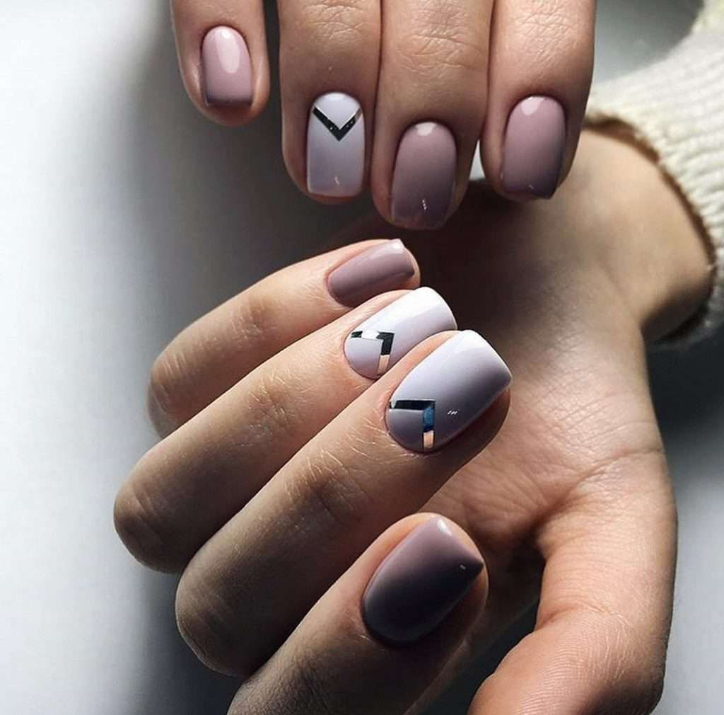 Top 100 Coffin Nail 2019 With Images Paznokcie