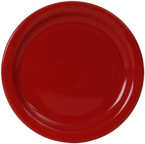 COLORcode Narrow Rim Round Salad Plate Rhubarb Set of 4 by COLORcode. $19.99  sc 1 st  Pinterest & COLORcode Narrow Rim Round Salad Plate Rhubarb Set of 4 by ...