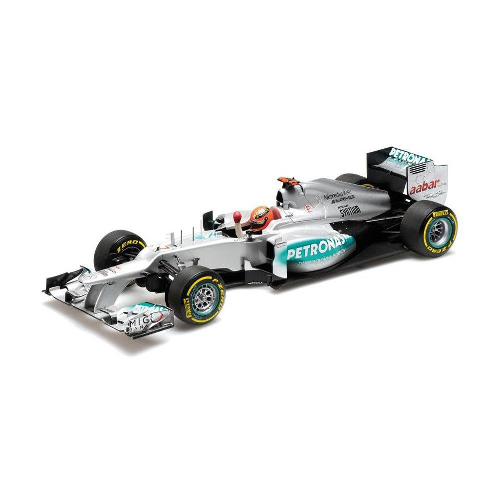 MINICHAMPS F1 W03 MERCEDES AMG PETRONAS 2012 NICO ROSBERG 1//18 DIECAST CAR