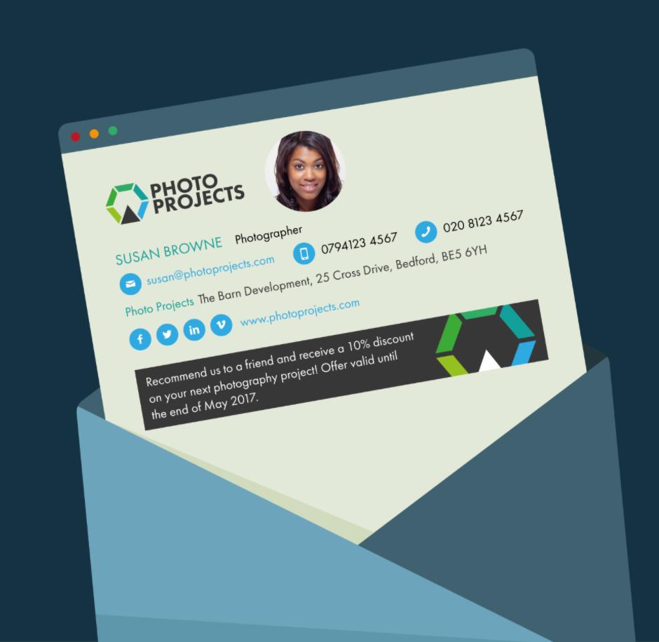 Free HTML Email Signature Generator si.gnatu.re in 2020
