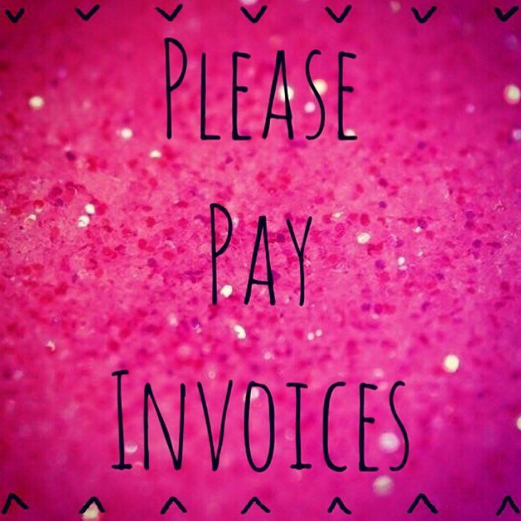 Pay invoices TODAY if you would like your orders shipped with all - send invoices