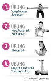 4 Übungen für schöne enge arme sport  fun workouts how
