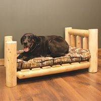 Log Pet Bed Large The Very Best For Your Loyal Companion Pet Furniture Dog Bed Dog Furniture