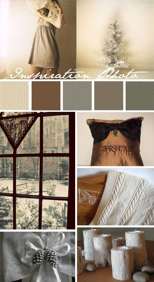 Gray Tan Color Scheme Colors Brown Beige Cream Green Silver