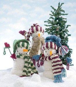 ready set snow 10 free crochet snowman patterns. Black Bedroom Furniture Sets. Home Design Ideas
