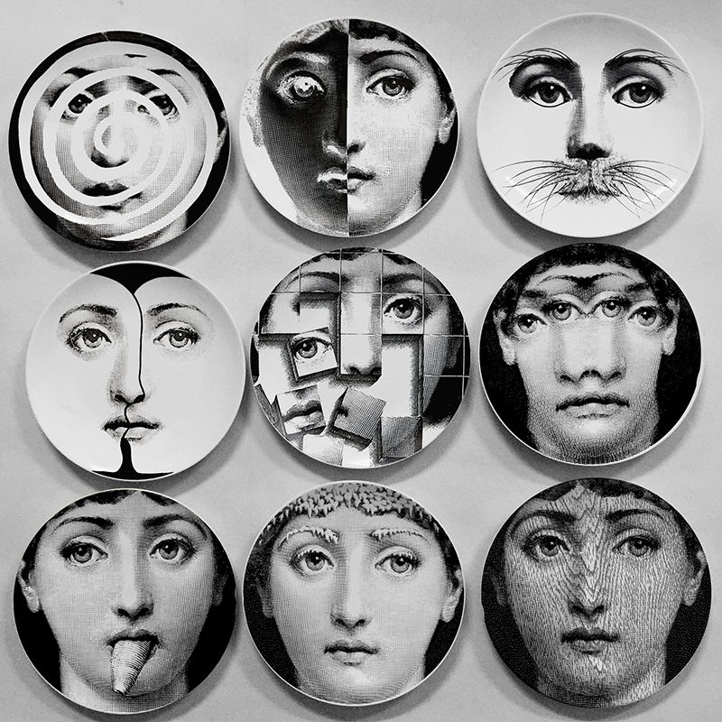 Wholesale fahion style Milan 2016 Fornasetti Plates decorative wall plates hanging crafts for home/hotel  sc 1 st  Pinterest & Wholesale fahion style Milan 2016 Fornasetti Plates decorative wall ...