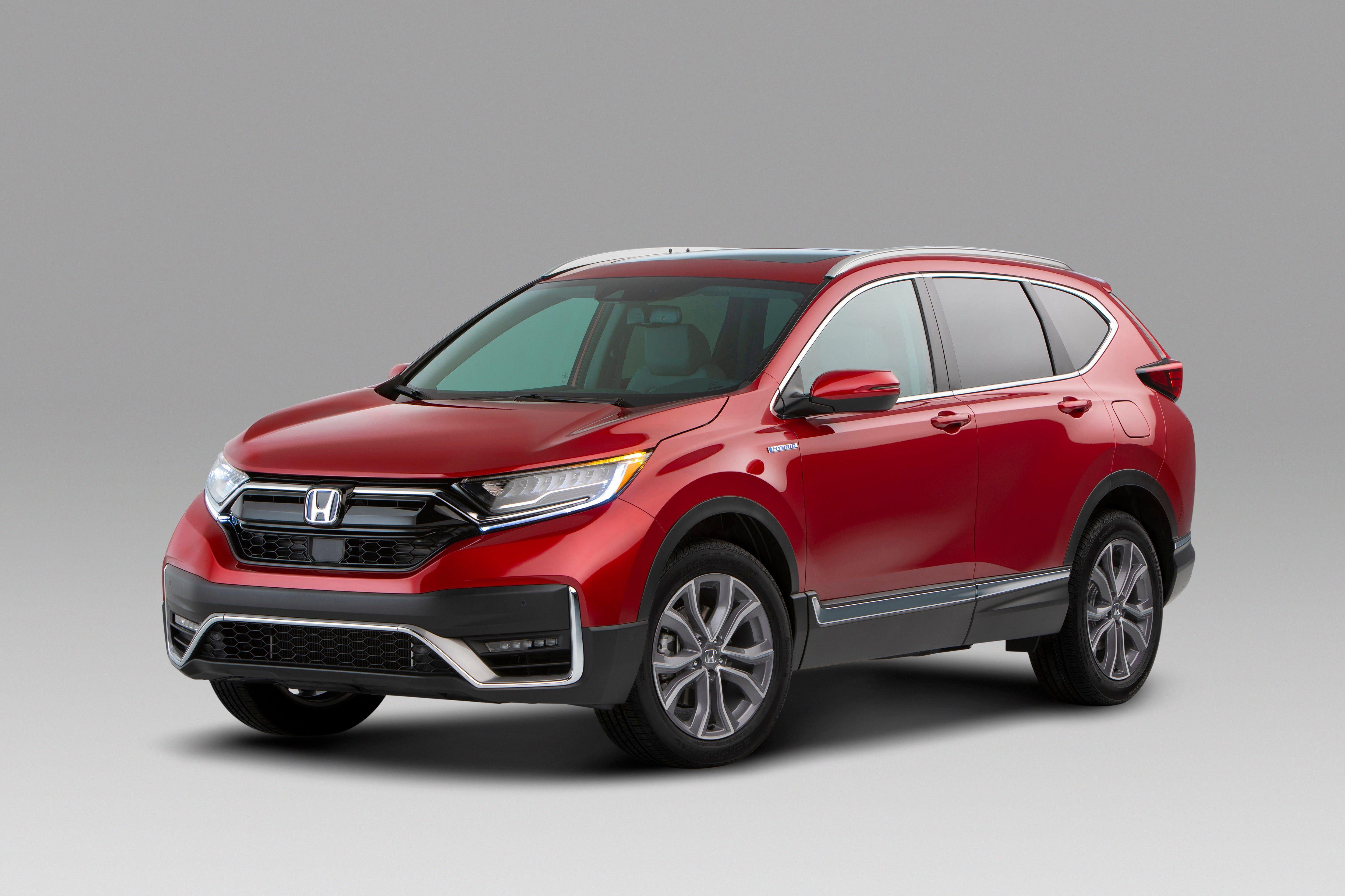 Honda Unveils 2020 Cr V Hybrid In Detroit Says More Electrics Are On Way Honda Crv Hybrid Honda Cr Honda Crv