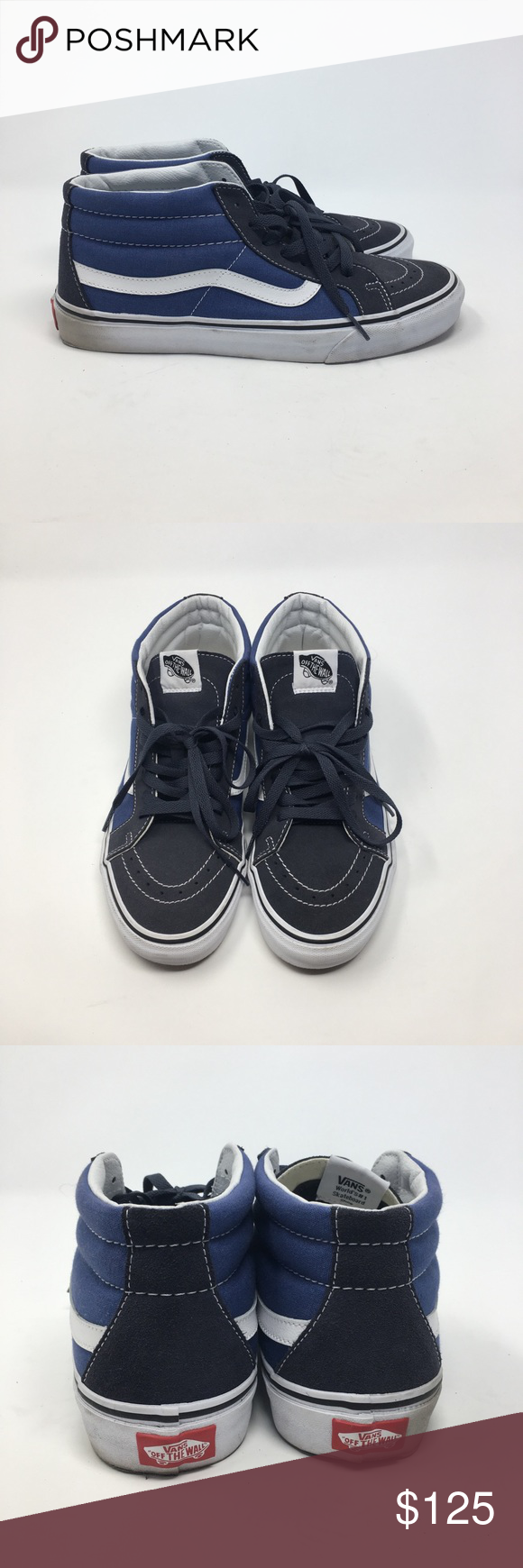 Sample Vans Sk8 Mid Pro Men s Size 9 Sample Vans Sk8 Mid Pro. Men s size 9.  Worn twice. Overall good condition! Does not come with og box. 07c8dc65275c