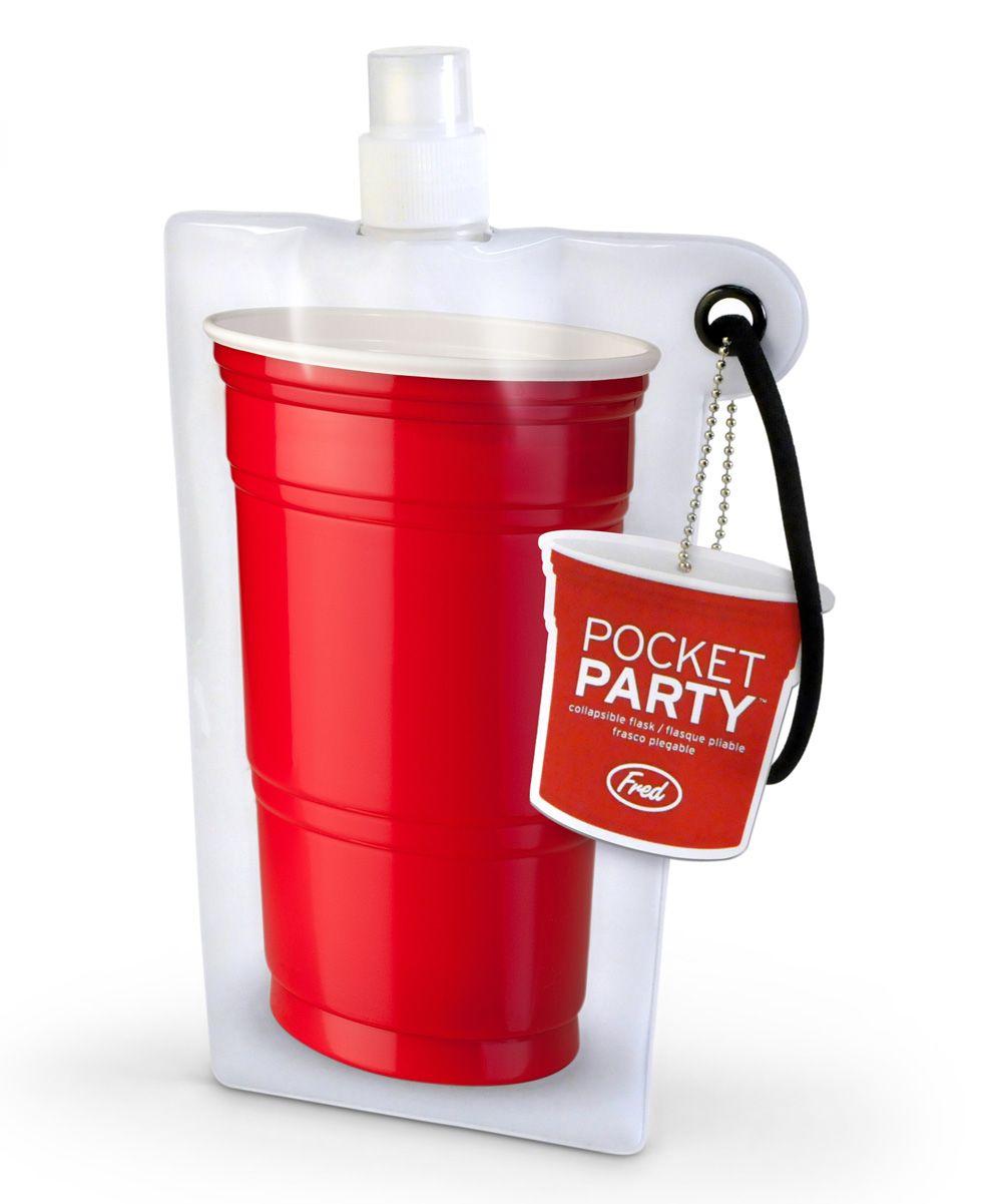 Pocket Party Flask Zulily Fred Friends Wine Flask Pocket Flask