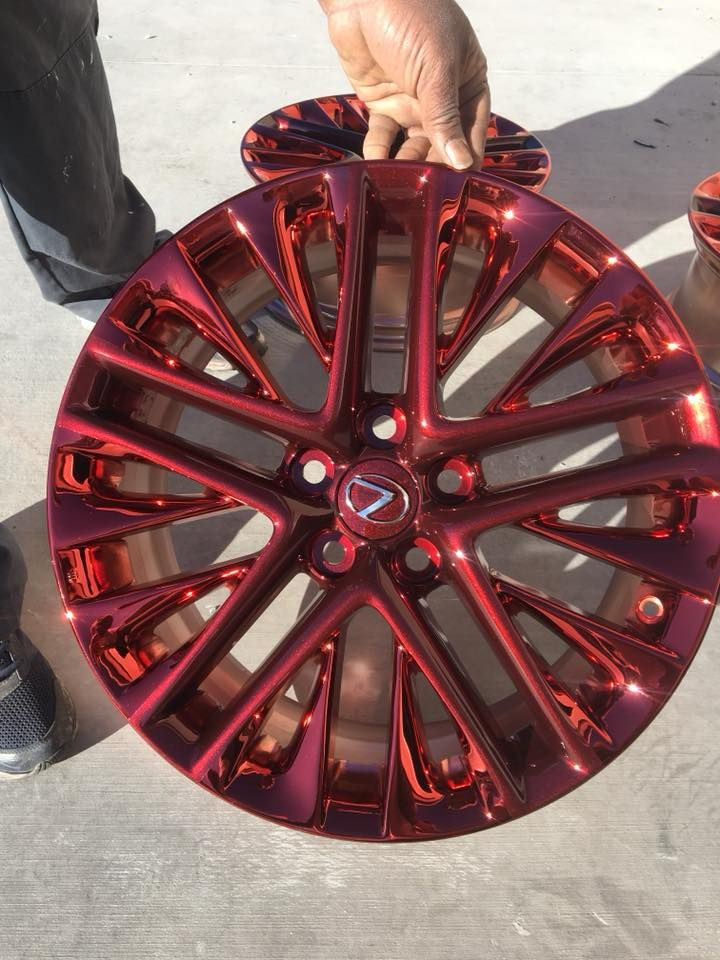 Red Wheel Weiser Online Bookstore: Red Chrome Rim With Metallic Red Pearl. Get Your Wheels