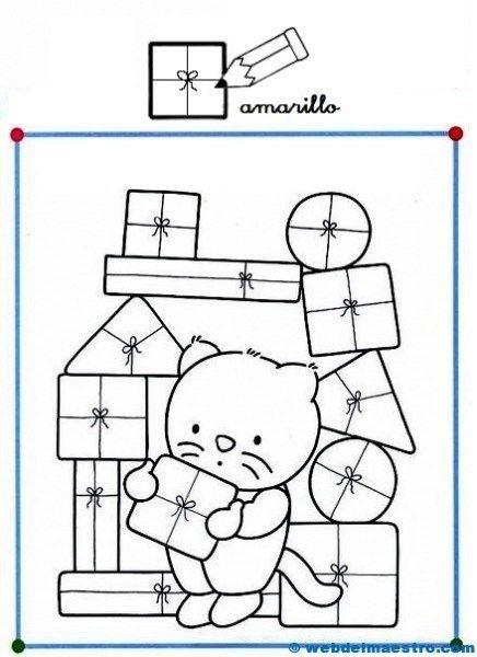 Dibujos con figuras geomtricas6  formas geometricas  Pinterest