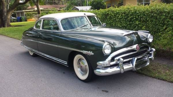 Twin H Power: Clean 1953 Hudson Hornet Coupe
