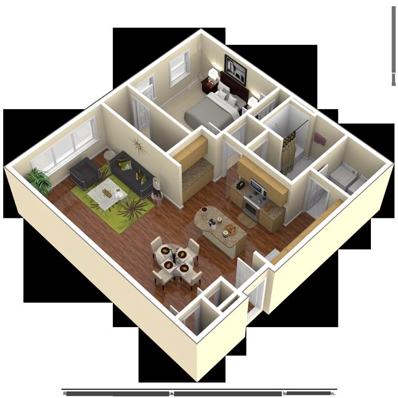 Floor Plans 2121 Mid Lane Studio, 1, 2 Bedroom Houston