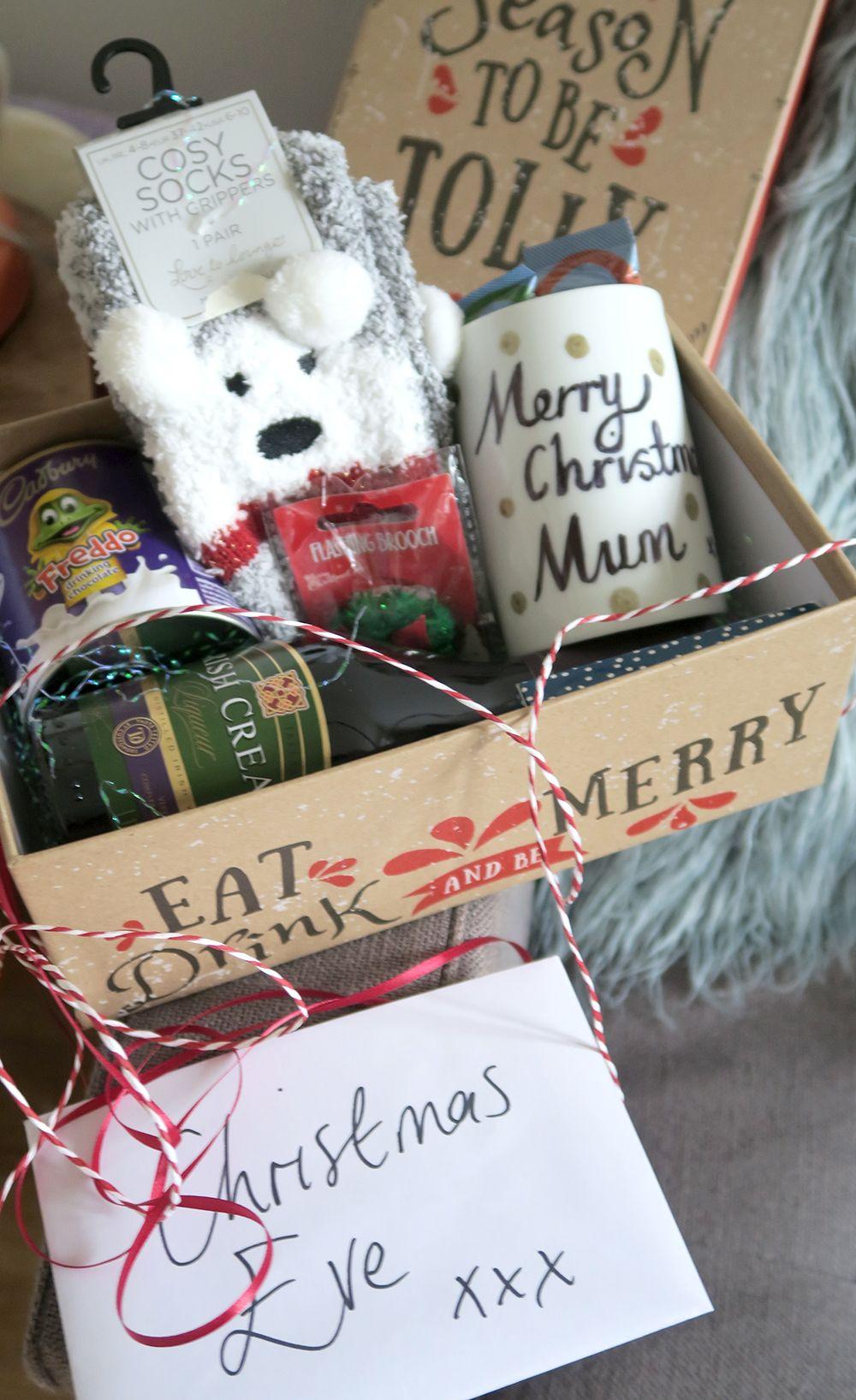 DIY Adult Christmas Eve Box - Paige Joanna | Personalised christmas eve box, Christmas eve box ...